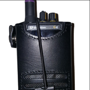 G Series Leather Holster w/metal swivel hook