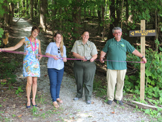 Penn Soil RC&D Completes Trail Improvement Project at Erie Bluffs State Park