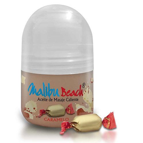 Aceite Caliente para Masajes MalibuBeach Hot de Caramelo 30 g