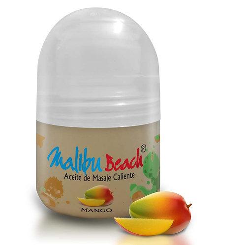 Aceite Caliente para Masajes MalibuBeach Hot de Mango 30 g