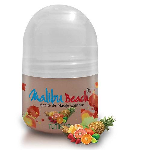 Aceite Caliente para Masajes MalibuBeach Hot de Tutifruti 30 g