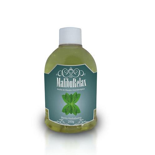 Aceite para Masajes Aromaterápico MalibuRelax Aroma Menta Hierbabuena 100 g