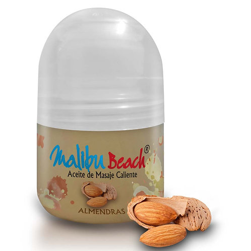Aceite Caliente para Masajes MalibuBeach Hot de Almendras 30 g