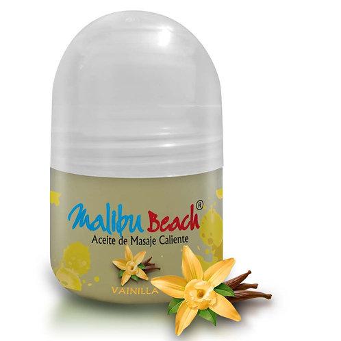 Aceite Caliente para Masajes MalibuBeach Hot de Vainilla 30 g