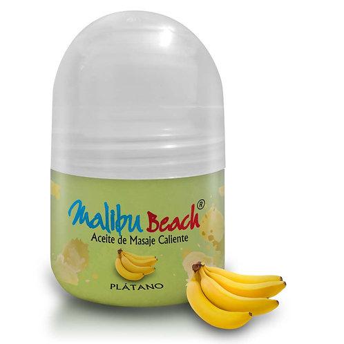 Aceite Caliente para Masajes MalibuBeach Hot de Banana 30 g