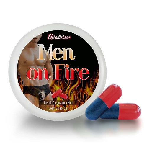 Vigorizante Afrodisíaco Masculino Man On Fire