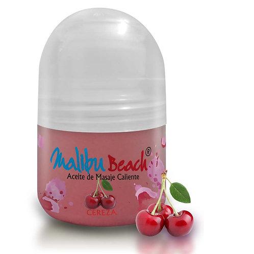 Aceite Caliente para Masajes MalibuBeach Hot de Cereza 30 g