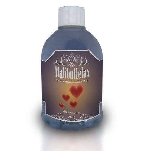 Aceite para Masajes Aromaterápico MalibuRelax Aroma Feromonas Pheromones 250 g