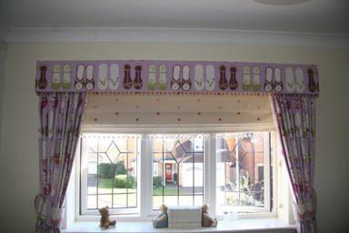 Pelmet & Curtains
