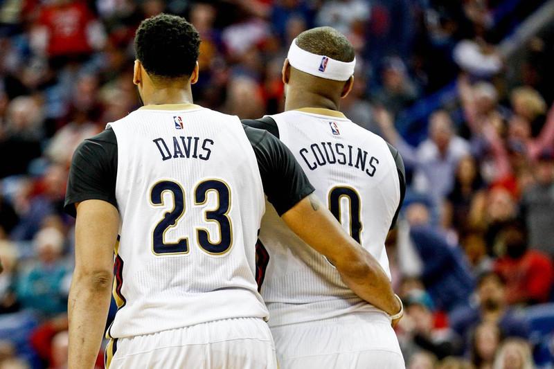 Cousins/Davis works, The Pels don't.