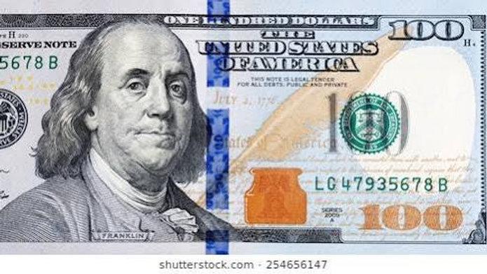 Recipient Gets : USD $100