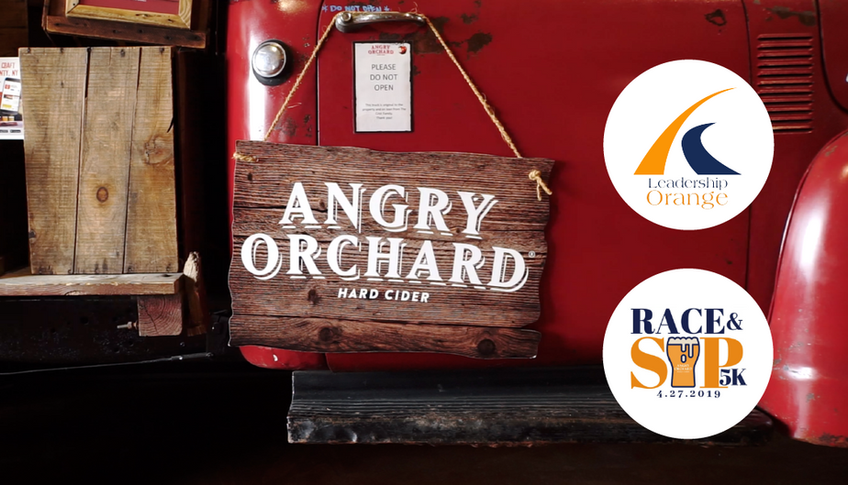 Race & Sip 5K at Angry Orchard