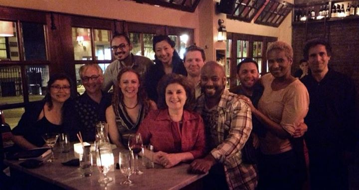 Facebook - Celebrating after the closing night performance with the amazing cast