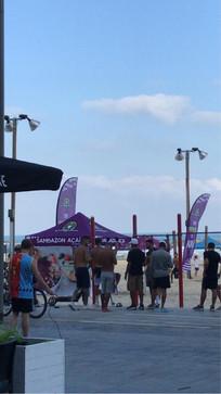 אירוע בחוף הים