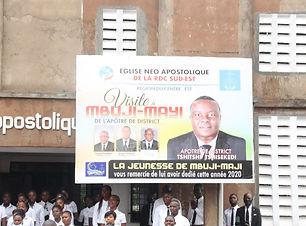 Service divin du 5 décembre 2020 à Mbuji