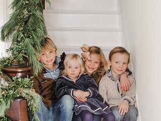 winter family session