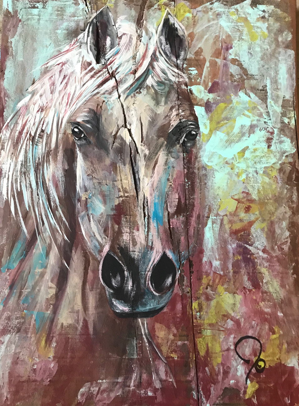 Horse of color - SOLD