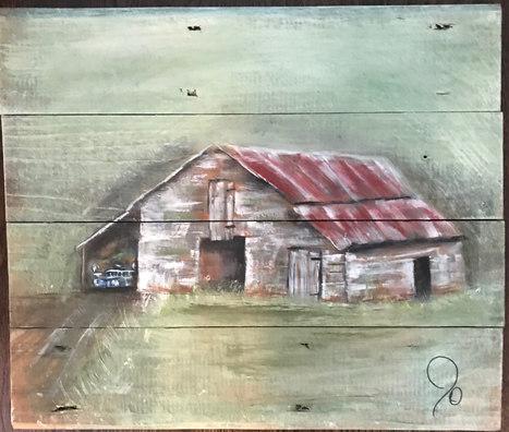 Country Barn - $135