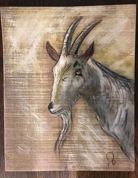 Guss the Goat - $75