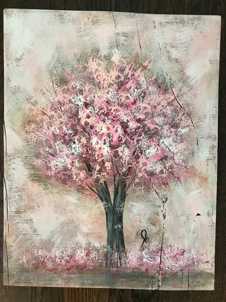 Blooming Cherry - $85