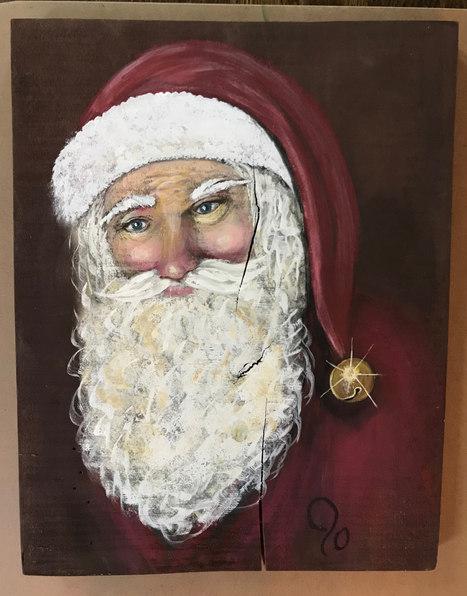 Vintage Santa - $125