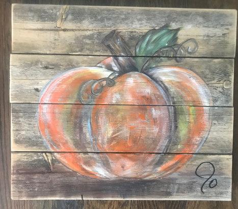 Glass Pumpkin - $95