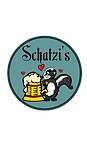 Schatzi's skunk logo