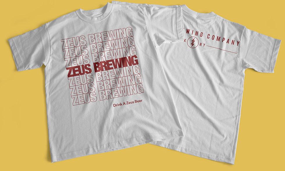 Zeus Brewing Tee