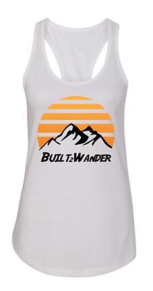 Ladies Mountain Sunrise Racerback Tank