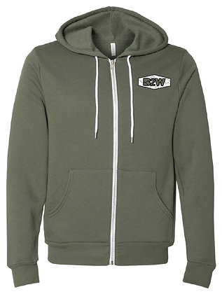 'Off the Grid' Zip-Up Hoodie