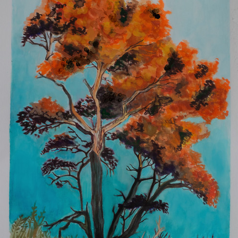 Water Color Tree 1
