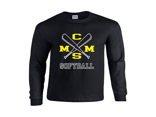 CMMS Softball LS Tee