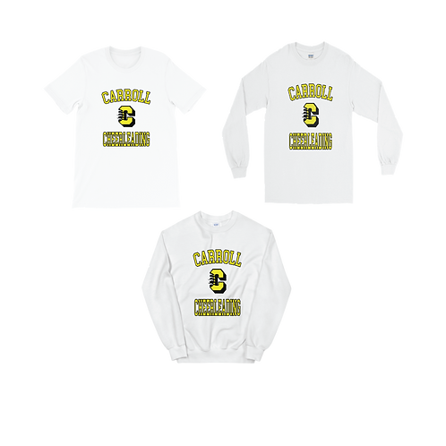 Cheer Bundle (White Sweatshirt)