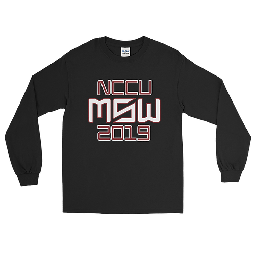 NCCU MSW Womens Long Sleeve 2019