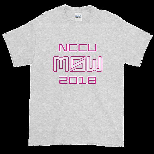 NCCU MSW Womens T-Shirt 2018
