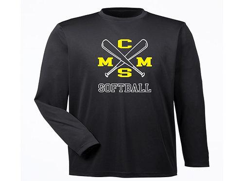 CMMS Softball LS Dri Fit