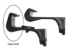 Large Hook #2485 (pack of 2)