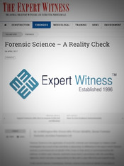 Forensic Science - A Reality Check