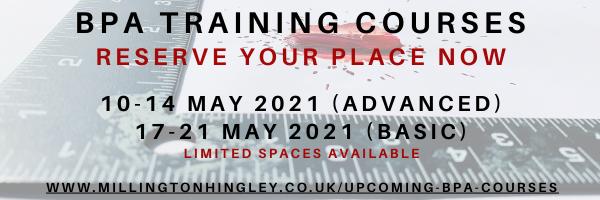 BPA Training Dates 2021