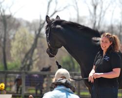 Kate Klisch with Demo Horse, Eli