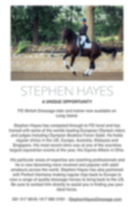 Stephen Hayes Flyer