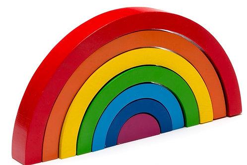 Best Years Bright Wooden Rainbow - Damaged