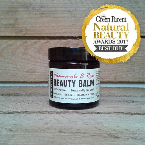Living Naturally - Chamomile & Rose Beauty Balm Moisturiser 60ML