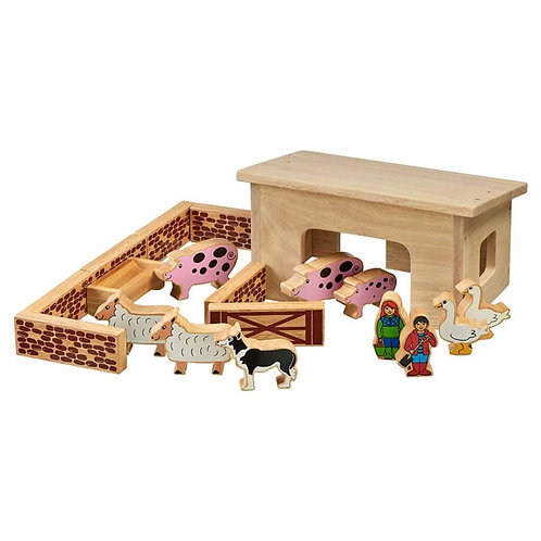 Lanka Kade Playset - Pig & Sheep Barn