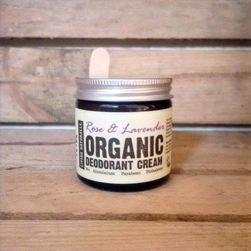 Living Naturally - Organic Deodorant Cream