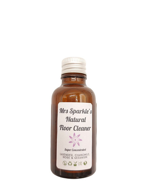 Natural Floor Cleaner - Super Concentrated - Mrs Sparkle's