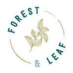 forest and leaf logo flaww