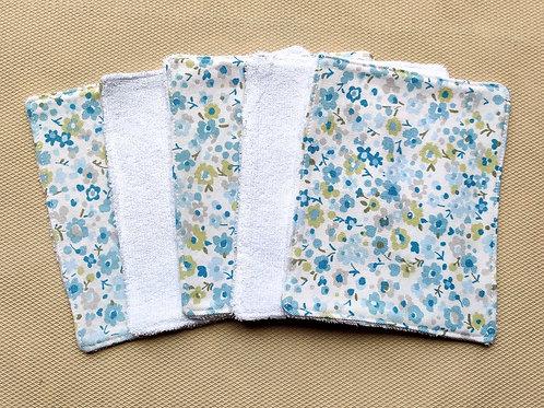 Fox & Bobbin Cloth Baby Wipes Bamboo - Set of 5