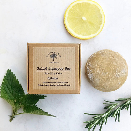 Botanical Solid Shampoo Bar - Cherry Tree Naturals