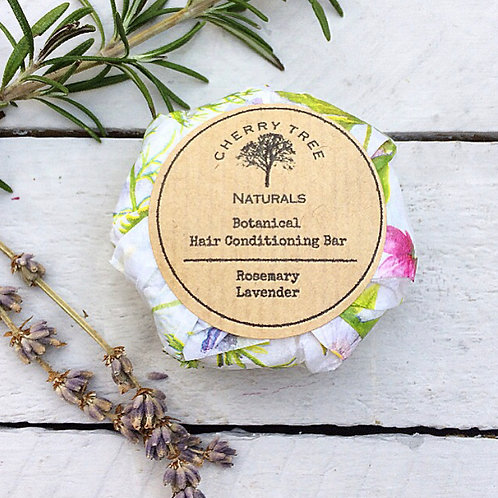 Botanical Hair Conditioning Solid Bar - Cherry Tree Natur